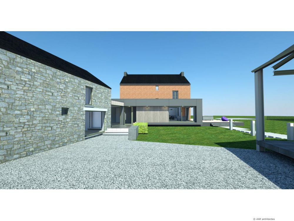 Aah architectes for Extension habitation